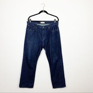 Gap Relaxed Fit Dark Wash Jeans Size 34 X 30